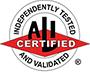 MaxJax is ALI Certified